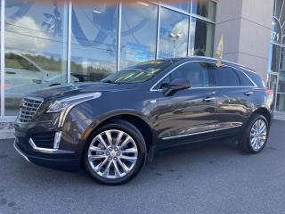 Used 2017 Cadillac XT5 TI , PLATINE , AWD , NAV , CRUIR , A/C for sale in Ste-Agathe-des-Monts, QC
