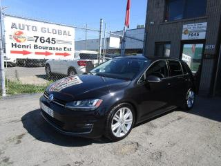Used 2015 Volkswagen Golf 1.8 TSI Highline à hayon 5 portes BM for sale in Montréal, QC