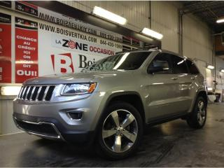 Used 2015 Jeep Grand Cherokee LIMITED AWD CUIR TOIT GPS CAMÉRA MOTEUR V-6 for sale in Blainville, QC