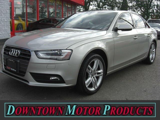 2013 Audi A4 Quattro Premium