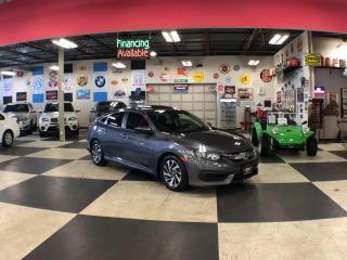Used 2016 Honda Civic Sedan EX AUT0 A/C SUNROOF BACKUP CAMERA BLUETOOTH for sale in North York, ON