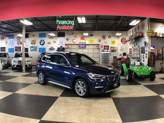2017 BMW X1 XDRIVE AUT0 AWD AUT0 LEATHER PANO/ROOF 76K