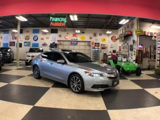 Used 2016 Acura TLX SH-AWD V6 AUT0 NAVI LEATHER SUNROOF CAMERA for sale in North York, ON