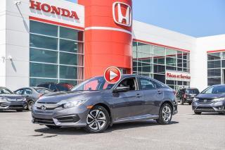 Used 2018 Honda Civic GARANTIE LALLIER MOTO-PROPULSEUR 10ANS/200,000 KIL LE PLUS GRAND CHOIX DE CIVIC AU QUEBEC for sale in Terrebonne, QC