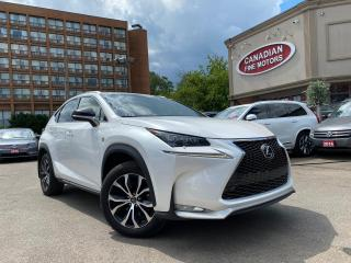 Used 2015 Lexus NX F-SPORT PKG | RED INT | NAVI | CAM | MOONROOF | for sale in Scarborough, ON