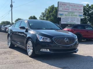 Used 2014 Buick LaCrosse Leather for sale in Komoka, ON
