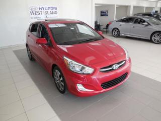 Used 2016 Hyundai Accent SE AUTO MAGS TOIT A/C BT CRUISE for sale in Dorval, QC