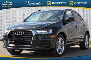 Used 2016 Audi Q3 2.0T Komfort Quattro Toit Panoramique for sale in Ste-Rose, QC