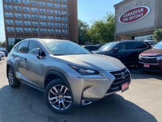 Used 2015 Lexus NX PREM PKG | LEATHER | ROOF | CAM | BAL LEXUS WARR | for sale in Scarborough, ON