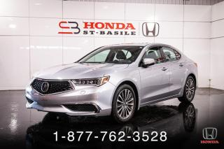 Used 2018 Acura TLX TECH + V6 + AWD + IMPECCABLE ! for sale in St-Basile-le-Grand, QC