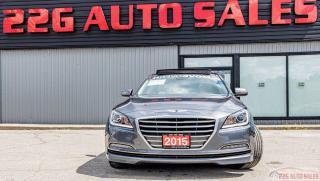 Used 2015 Hyundai Genesis LUXURY for sale in Brampton, ON