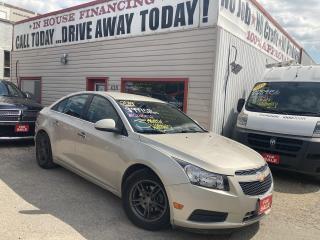 Used 2014 Chevrolet Cruze LT Turbo for sale in Winnipeg, MB