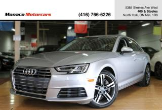Used 2017 Audi A4 TECHNIK - BANG&OLUFSEN|NAVI|360CAM|SUNROOF for sale in North York, ON