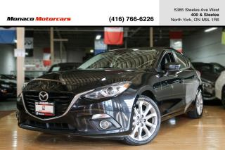 Used 2014 Mazda MAZDA3 HB GT - HEADSUP|SUNROOF|NAVI|BACKUP|LEATHER for sale in North York, ON