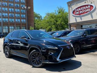 Used 2016 Lexus RX 450h CLEAN CARFAX | F SPORT PKG | HYBRID | FULL SERVICE for sale in Scarborough, ON