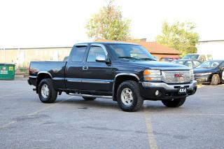 Used 2004 GMC Sierra 1500 SLE,4X4 for sale in Brampton, ON
