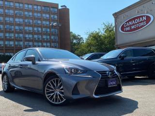 Used 2017 Lexus IS 300 ONE OWNER | NAVI CAM | ROOF | AWD | COOLED SEATS | for sale in Scarborough, ON