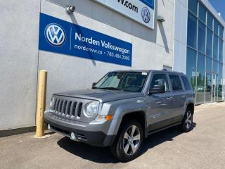 Used 2016 Jeep Patriot HIGH ALTITUDE 4X4 - LEATHER / SUNROOF / HEATED SEATS for sale in Edmonton, AB