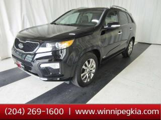 Used 2013 Kia Sorento SX *Always Owned In Manitoba!* for sale in Winnipeg, MB