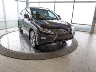 Used 2014 Lexus RX 450h Hybrid - One Owner! Accident Free Carfax! for sale in Edmonton, AB