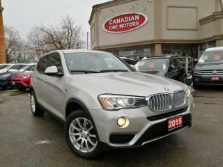 Used 2015 BMW X3 CLEAN CARFAX | AWD | BLUETOOTH | 4 NEW SNOW TIRES* for sale in Scarborough, ON