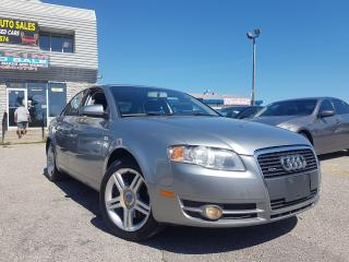 Used 2006 Audi A4 2.0T/AWD/ALLOYS/6-SPEED/CERTIFIED! for sale in Pickering, ON