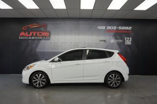 Used 2015 Hyundai Accent SE AUTO TOIT OUVRANT MAGS SIÈGES BLUETOOTH 76 881 for sale in Lévis, QC