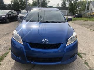 Used 2009 Toyota Matrix for sale in Winnipeg, MB