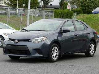 Used 2016 Toyota Corolla CE AUTOMATIQUE JAMAIS ACCIDENTE!!! for sale in St-Georges, QC