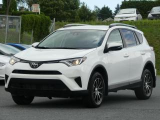 Used 2017 Toyota RAV4 LE AWD JAMAIS ACCIDENTE!!! for sale in St-Georges, QC
