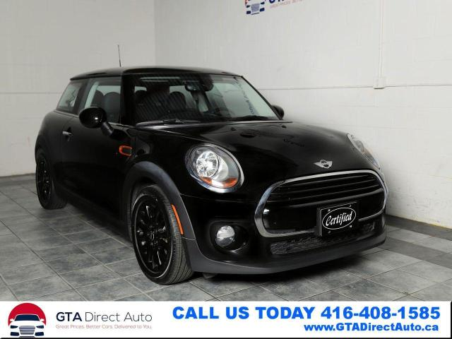 2017 MINI Cooper Panoroof Manual-6 KeyGo Heated Connected Certified