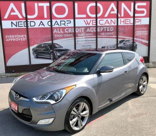 2014 Hyundai Veloster W/TECH-ALL CREDIT ACCEPTED