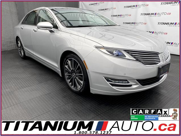 2016 Lincoln MKZ Hybrid+Pano Roof+Cooled & Massage Seats+GPS+BSM