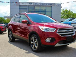 Used 2017 Ford Escape SE 201A   CLEAN CARFAX   LOW KM for sale in Winnipeg, MB