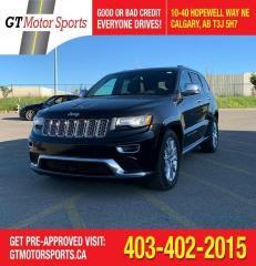 Used 2015 Jeep Grand Cherokee Summit AWD | $0 DOWN - EVERYONE APPROVED! for sale in Calgary, AB