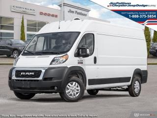 New 2019 RAM 3500 ProMaster High Roof 159 in. WB for sale in Surrey, BC