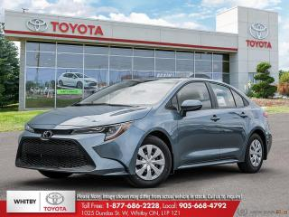 New 2020 Toyota Corolla L for sale in Whitby, ON