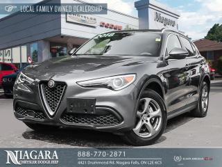 Used 2018 Alfa Romeo Stelvio Base for sale in Niagara Falls, ON