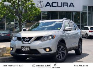 Used 2016 Nissan Rogue SL AWD Premium CVT for sale in Markham, ON