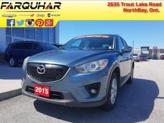 Used 2015 Mazda CX-5 GS - Sunroof -  Heated Seats - $124 B/W for sale in North Bay, ON