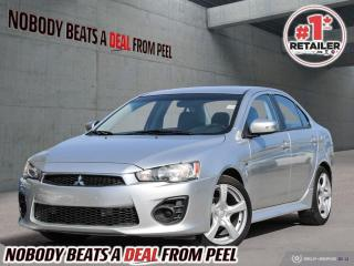 Used 2016 Mitsubishi Lancer 4dr Sdn CVT ES FWD for sale in Mississauga, ON