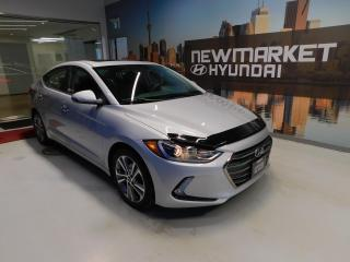 Used 2017 Hyundai Elantra Limited Sunroof! GPS! Finance as low as 0.99% for sale in Newmarket, ON