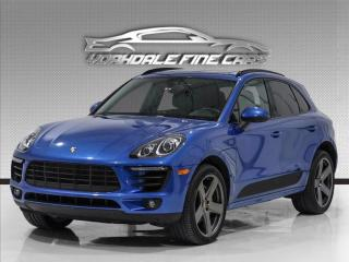 Used 2017 Porsche Macan S, Rare Color Combo, Navigation, 21