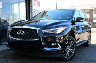 Used 2016 Infiniti QX60 7 Pass, Navi, DVD, Heated+Cooled Seats, PanoRoof, 360Cam for sale in North York, ON