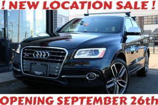 Used 2016 Audi SQ5 Quattro 3.0T Technik, RoofRack, Navi, Cam, Blind Spot, Pano for sale in North York, ON