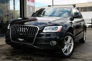 Used 2016 Audi Q5 3.0T Technik, S-Line,DVD,Nav,Cooled Seats,PanRoof,Cam for sale in North York, ON