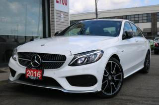Used 2016 Mercedes-Benz C-Class C450 AMG 4M, Navi, Cam, PanoRoof, Low KM for sale in North York, ON