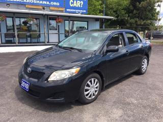 Used 2010 Toyota Corolla CE for sale in Oshwa, ON