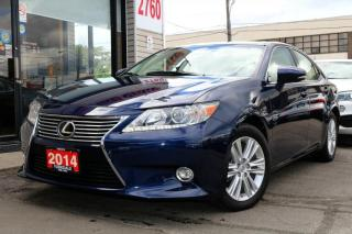 Used 2014 Lexus ES 350 Navi, Cam, Heated&Cooled Seats,Low KM, Wood Trim No Accident for sale in North York, ON