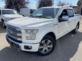 Used 2015 Ford F-150 Platinum SuperCrew, 4X4, 3.5 ecoboost, FULLY LOADED for sale in Calgary, AB